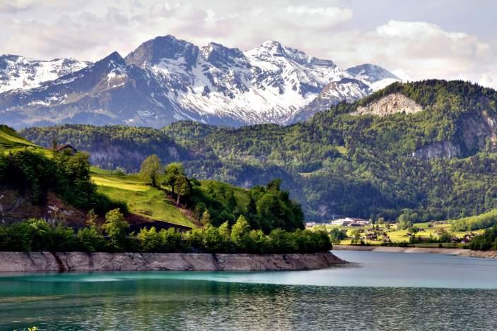 Πανόραμα Ελβετίας - Σεν Μόριτζ - Αλπικό Τρένο
