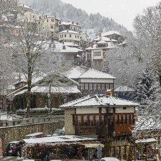 Απόκριες στο Χιονισμένο Μέτσοβο